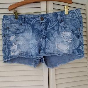 Celebrity Pink Denim/Blue Jean Shorts